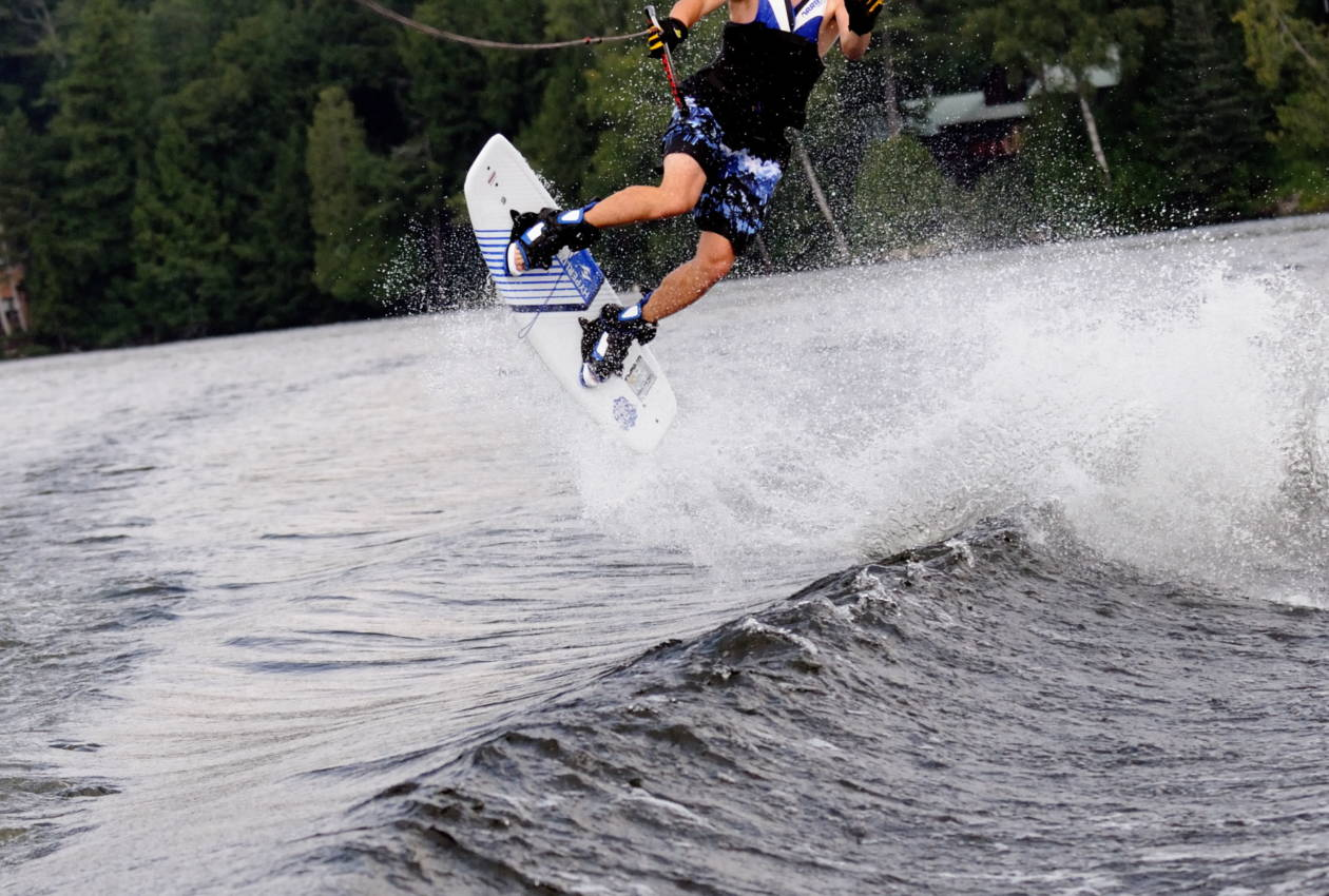 Camp Cherokee Waterfront Waveboarding Anthony Whitlow coolest paster